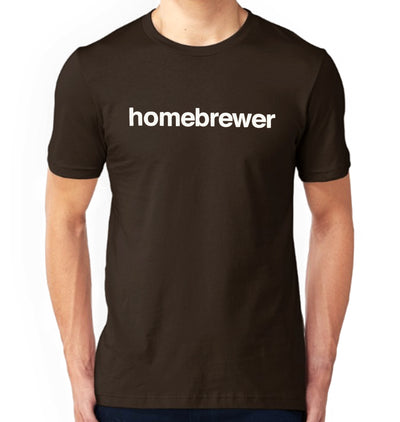 Homebrewer T-Shirt on Model