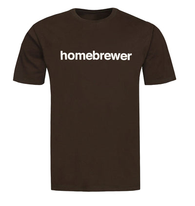 Homebrewer T-Shirt Flat