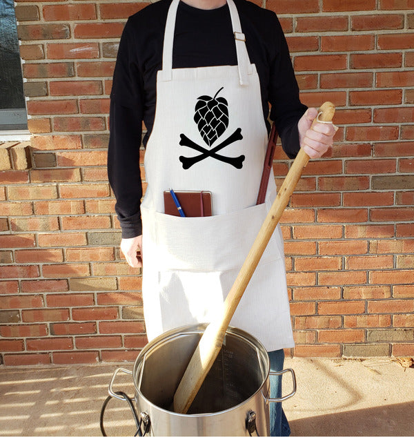 Hop and Crossbones Brewing Apron