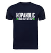Hopaholic Drink Craft Not Crap T-Shirt Flat Image