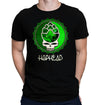 Hop Head Bottle Cap Skull T-Shirt Distressed Print