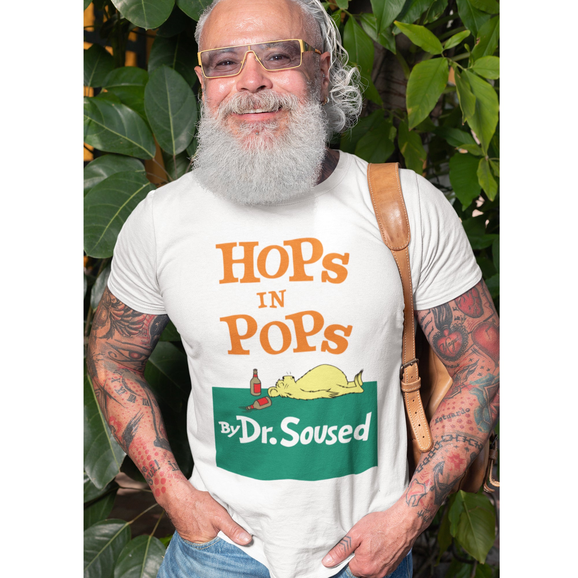 Hops in Pops Dr Soused Beer T-Shirt