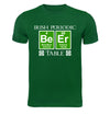 Irish Periodic Table St. Paddy's Day T-Shirt Flat