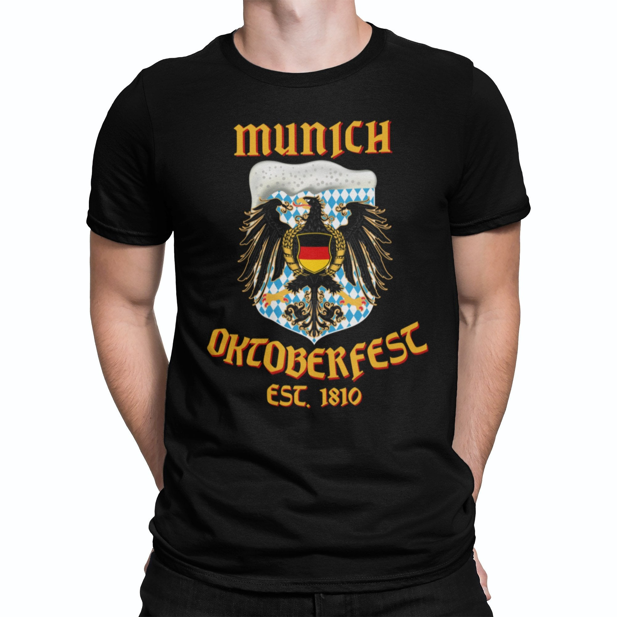 Munich Oktoberfest Eagle Beer T-Shirt