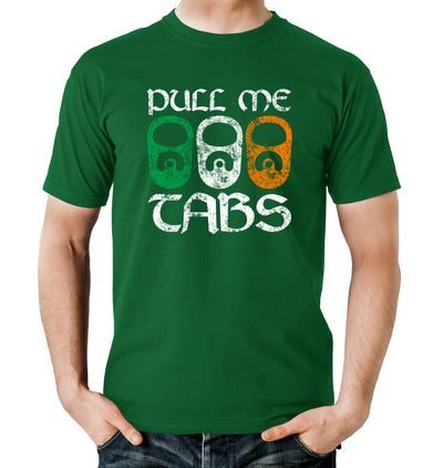 Pull Me Tabs St. Patrick's Day T-Shirt