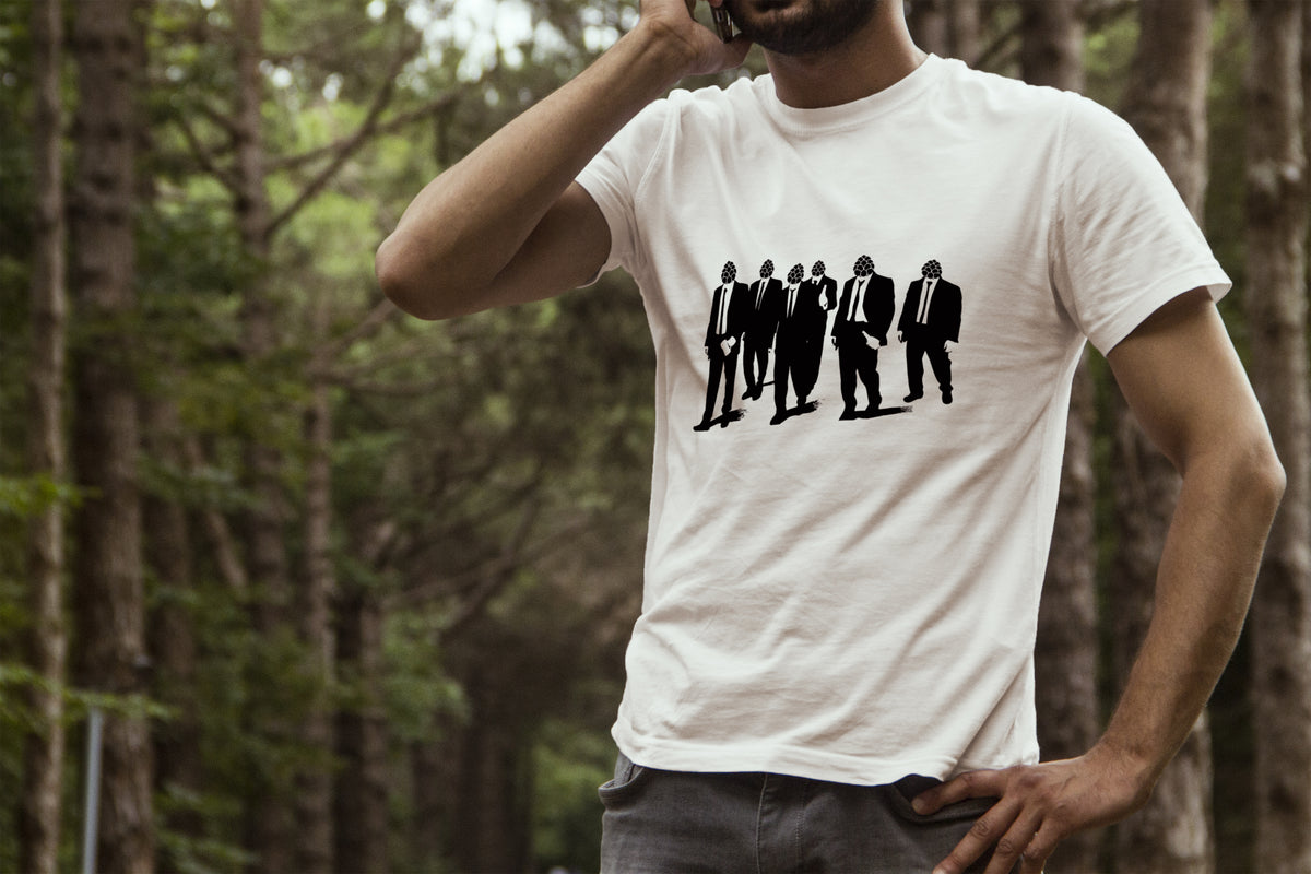 Reservoir Hops in Woods Model T-Shirt