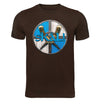 Skal Brown T-Shirt Flat
