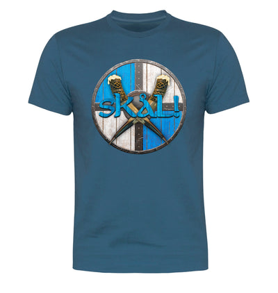 Skal Blue T-Shirt Flat