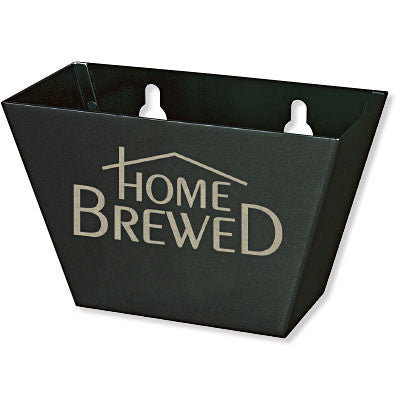 Black Aluminum Home Brewed Beer Bottle Cap Catcher