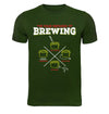 The Four Methods of Homebrewing Craft Beer T-Shirt Flat