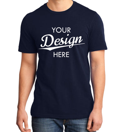 Custom Homebrewery  Logo on a Navy T-Shirt
