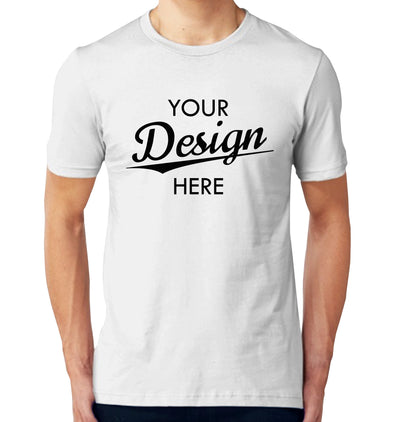 Custom Homebrewery  Logo on a White T-Shirt