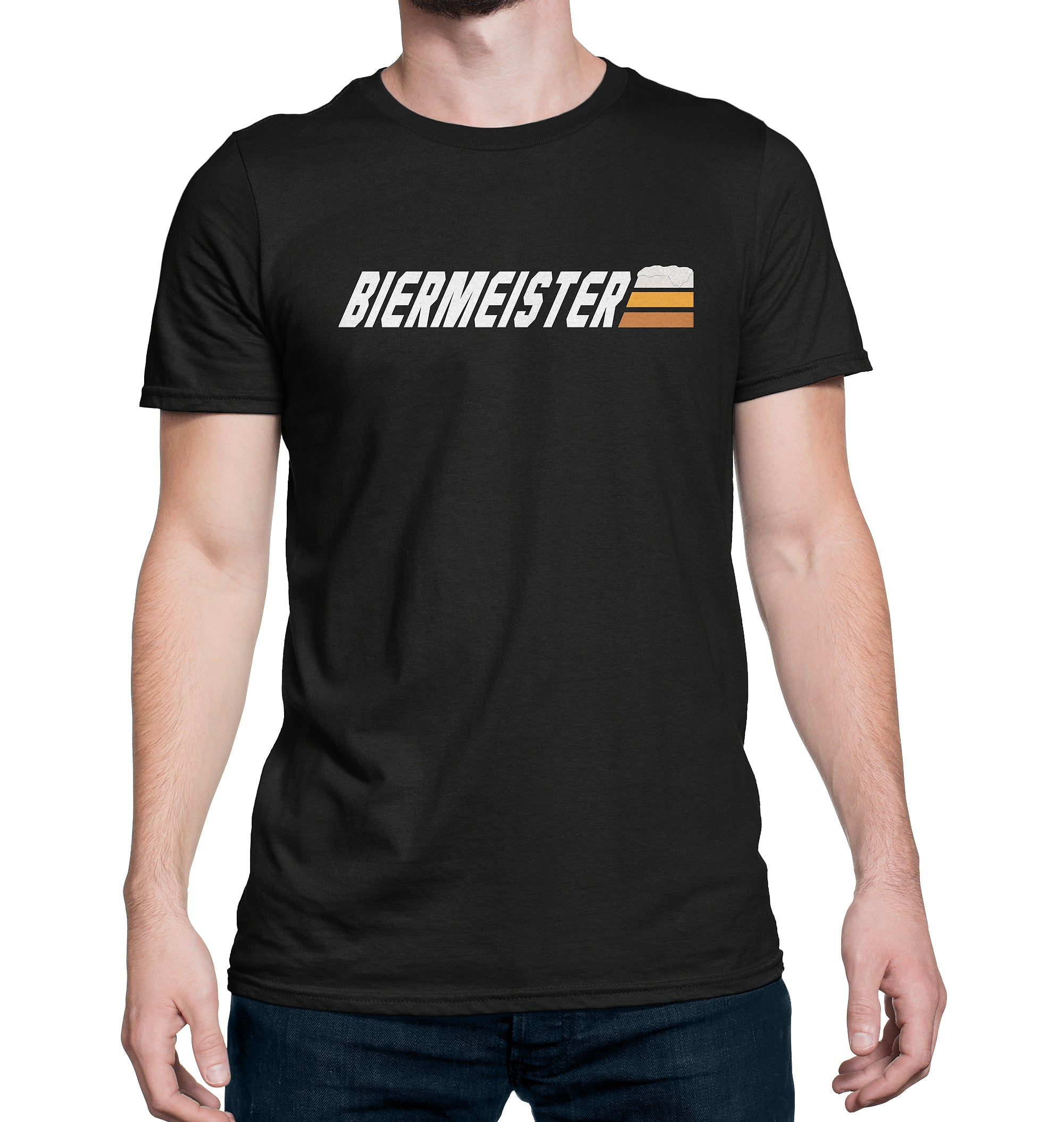 Biermeister Master of Beer T-Shirt on Model