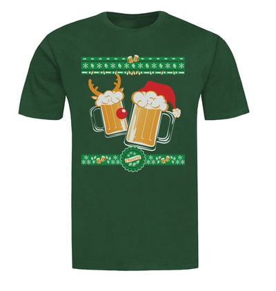 Tasty Brew Christmas Beer Sweater Beer T-Shirt Flat