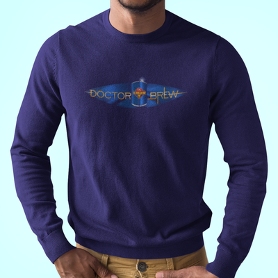 Doctor Brew Time Lager Craft Beer Longsleeve T-Shirt