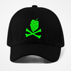 Green Hops and Crossbones Craft Beer Sport-Tek Snapback Hat