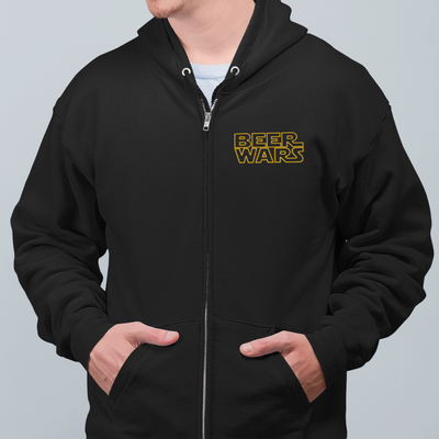 Brewbacca Beer Wars Zip Up Hoodie