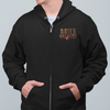 Bates Brewery Beer Zip Up Hoodie