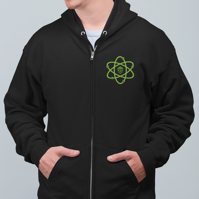 Brewing Science Beer Zip Up Hoodie