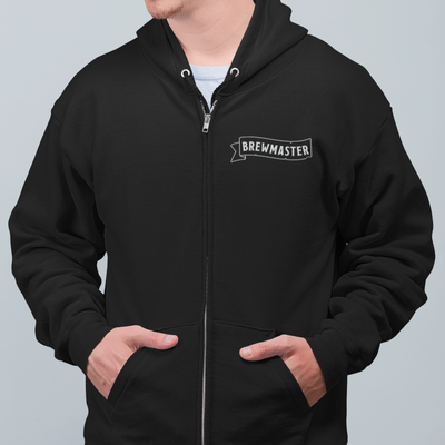 Brewmaster Character Sheet Homebrewing Beer Zip Up Hoodie