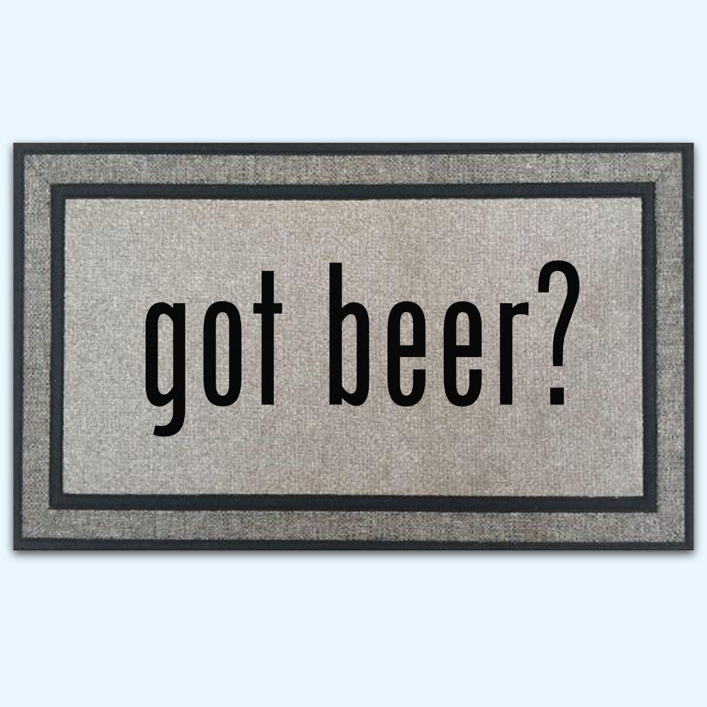 Got Beer Door Mat