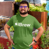 iBrew Homebrewing T-Shirt Action Shot