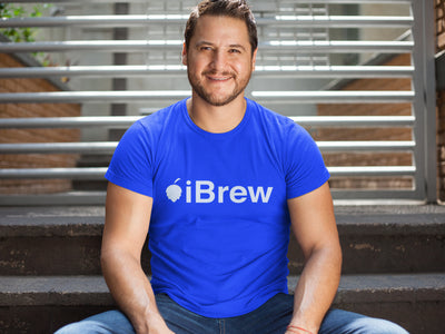 iBrew Homebrewer Craft Beer T-Shirt Action Shot