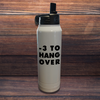 Minus 3 To Hangover Polar Camel Water Bottle