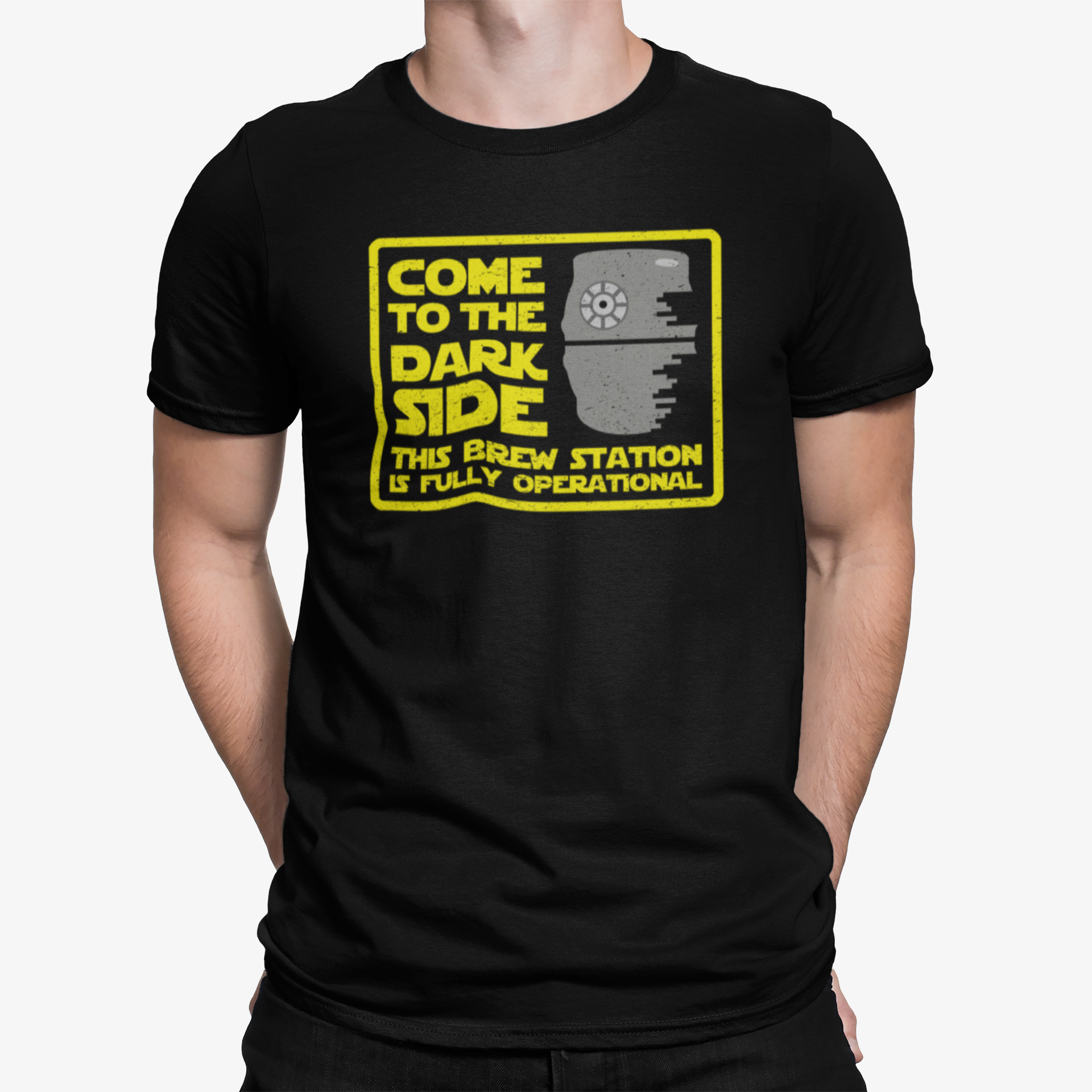 Come To The Dark Side, This Brew Station Is Fully Operational T-Shirt