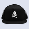Hops and Crossbones Craft Beer Flat Bill Trucker Hat