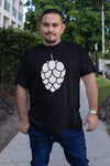 Hop Cone Beer T-Shirt Black Action Shot