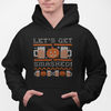 Let's Get Smashed Ugly Halloween Sweater Beer Pullover Hoodie