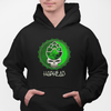 Hop Head Bottle Cap Skull Beer Pullover Hoodie