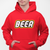 Beer Brick Building Blocks Pullover Hoodie