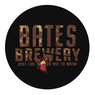 Bates Brewery Craft Beer Round Beer Coaster