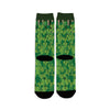 Hop-Bines Growing Craft Beer Socks Back