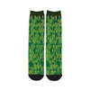 Hop-Bines Growing Craft Beer Socks Front
