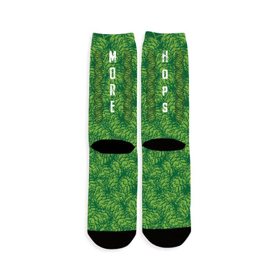 Hop-Bines Craft Beer Socks Back