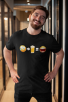 Sad Face + Beer = Happy Face Emoji T-Shirt