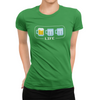 Beer Life Bar Craft Beer Gamer T-Shirt