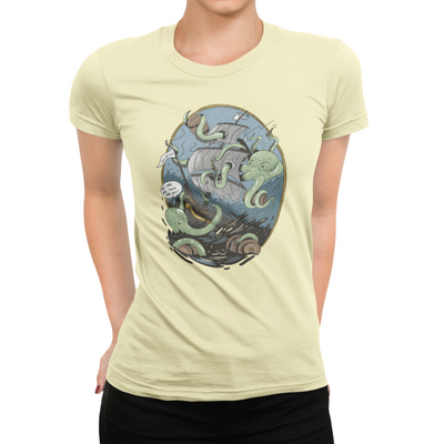 Giant Octopus Wants Beer T-Shirt