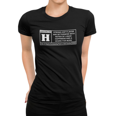Rated H for Hops Beer T-Shirt