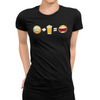 Sad Face + Beer = Happy Face Emoji Beer T-Shirt