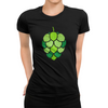 Stained Glass Hop Cone Craft Beer T-Shirt