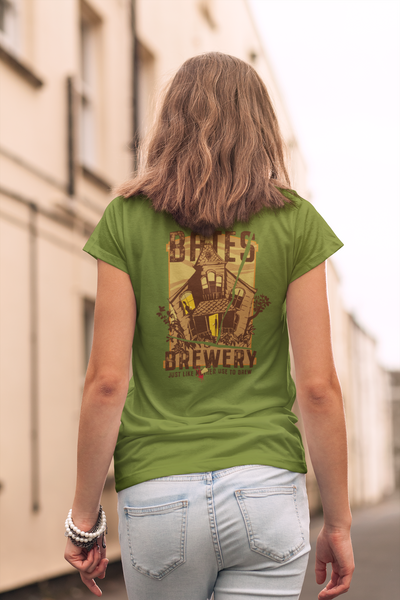 Bates Brewery Beer T-Shirt - Beer Like Mother Used to Brew