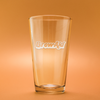 Brew-Aid Etched Beer Glass