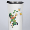 8-Bit Leprechaun St. Patrick's Day Beer 20oz Travel Mug