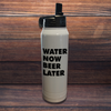 Water Now Beer Later Polar Camel Water Bottle