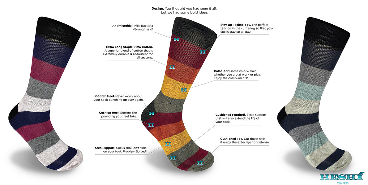 Mens designer fashion funky colorful cotton dress athletic cushioned comfortable socks women