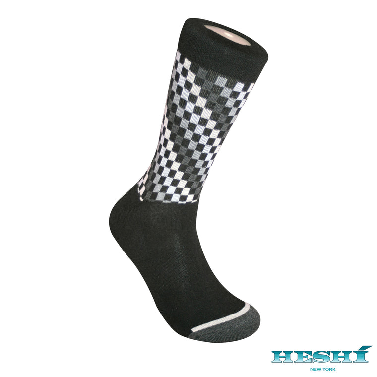 Heshí Fashion Crew Sock - Black